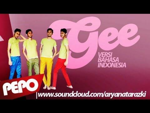 SNSD - GEE Bahasa Indonesia Parody