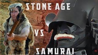 Deadliest Warriors: Pre-metal Age, Tribal & Islander Vs Samurai Armor