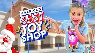 America's Best Toy Shop 🎁 Wish List Event at WALMART 2018!