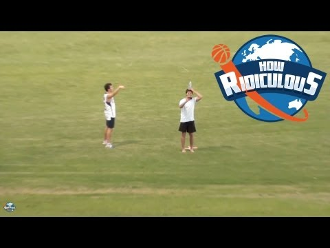 William Tell Boomerang Trick Shot - How Ridiculous
