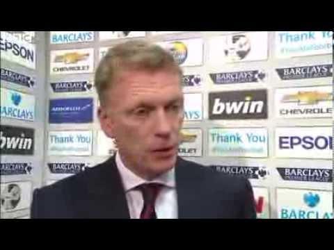 Manchester United vs Crystal Palace 2-0 - David Moyes (14-09-13)