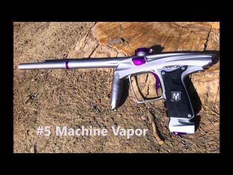 Paintball Gun Design - Timelapse Of The 3D Modeling Process