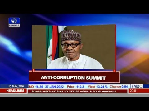 President Buhari Arrives In London For Anti corruption Summit