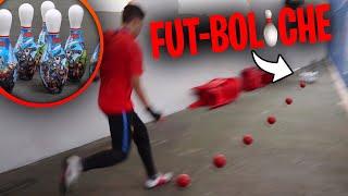 FUT-BOLICHE (O GOL VIROU STRIKE!!!) - DESAFIOS DE FUTEBOL
