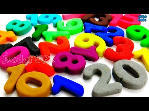 Learn To Count, Numbers with Play Doh|Numbers 0 to 20 Collection|Numbers 0 to 100|Counting 0 to 100