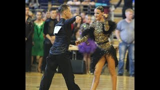 Berlin Open 2017 / WDSF Youth Latin SemiFINAL / Tudor & Nikita DEN