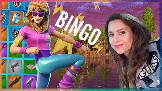 BINGO IN FORTNITE! (MINI-GAME #4)