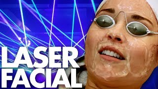 We Got Medical Grade LASER Facials (Beauty Trippin)