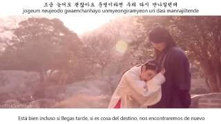Davichi - Forgetting You [sub español + han + rom] Moon Lovers- Scarlet Heart: Ryo OST