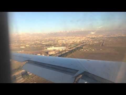 Iraqi Airways CRJ900 Landing in ISU - Sulaymaniyah