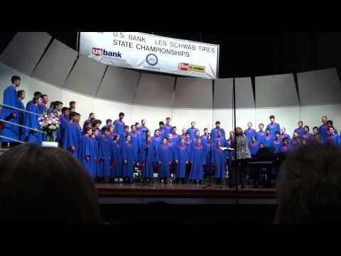 South Salem High School's Symphonic Choir @ State 2014 Song3
