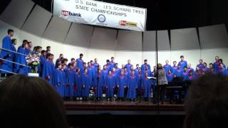 Mount Salem Video - South Salem High School's Symphonic Choir @ State 2014 Song3