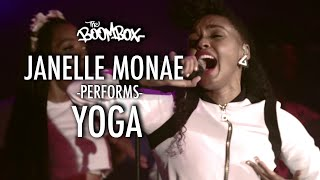 Janelle Monae Performs