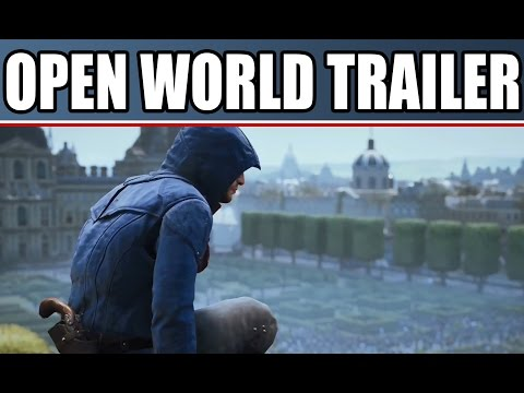 Assassin's Creed Unity New Gameplay Trailer Free Roam Open World In Multiplayer Coop PS4 Xbox One PC