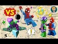 Spider Man vs Green Goblin Toys for Kids - Gertit Toys Review Super Heroes Mighty Micros Unboxing