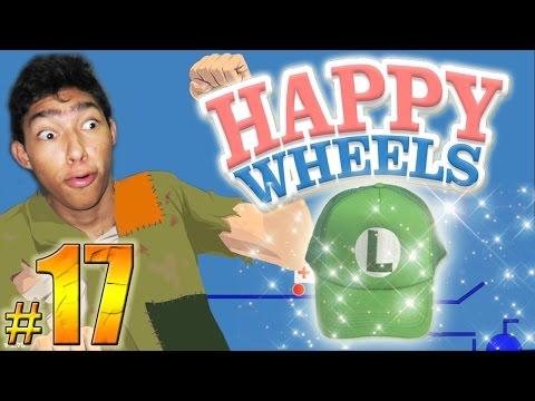 LA GORRA DE LA SUERTE - Happy Wheels: Episodio 17   Fernanfloo