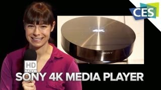 Sony 4K Media Player - CES 2013