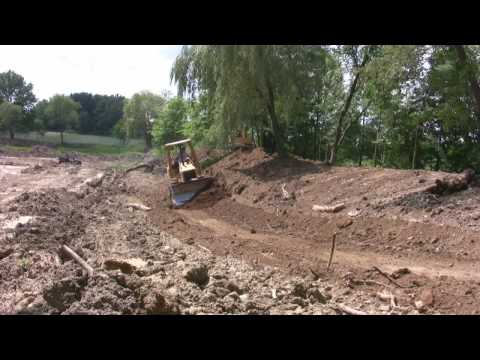 Cat D3 in action.