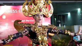 Press Conference Ariska Putri Pertiwi Goes To Miss Grand International 2016