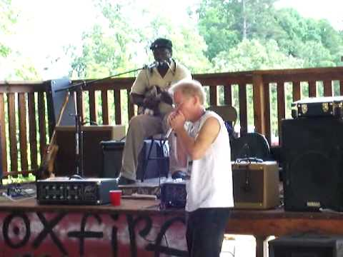 Terry Harmonica Bean and Adam Gussow at Hill Country Harmonica 2010