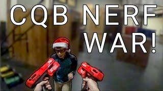 CQB Nerf Gameplay #33 - Dual Wielding Deadpool Blasters! [Kill Confirmed Rival Gameplay]