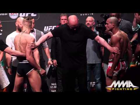 UFC Fight Night 46 Weigh-Ins: Conor McGregor vs. Diego Brandao