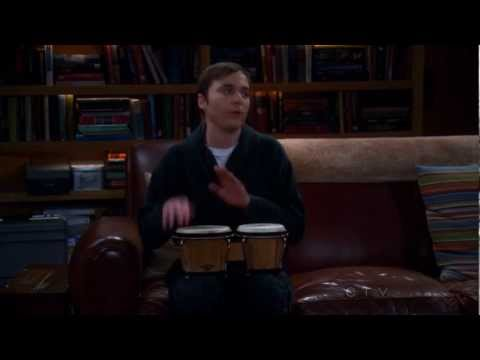 Thumbnail of video The Big Bang Theory ~ Sheldon Playing The Bongos ~ The Werewolf Transformation