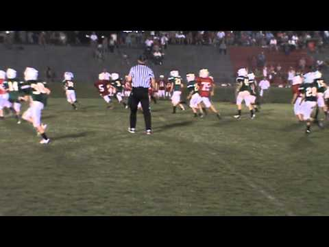 Desmond Adam 2nd TD of game (Edgewood Academy vs. Lowndes Academy) 9.03.13