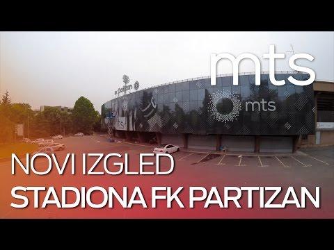 Novi izgled stadiona FK Partizan