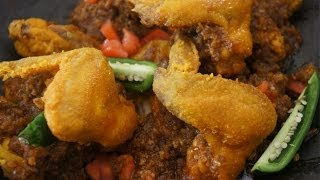 Fried Chicken Wings in Chili Butter Recipe - Mitmita Kibe Amharic & English