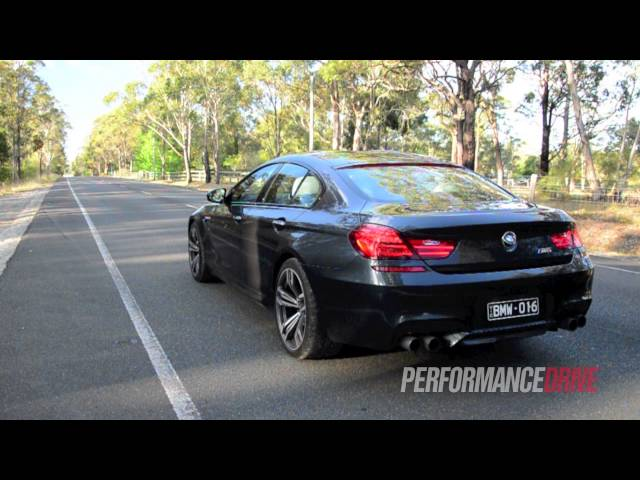 BMW M6 Gran Coupe engine sound and 0-100km/h - YouTube
