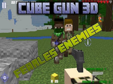 Cube Gun 3d Free Mine Fps