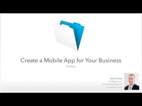 Create a Mobile App for your Business