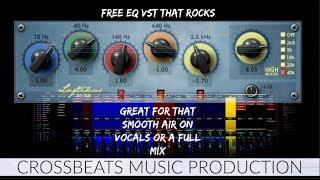 Free EQ VST - Luftikus - Hardware-modeled EQ - Review | Studio One 3.5