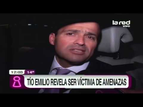 Tío Emilio revela ser víctima de amenazas
