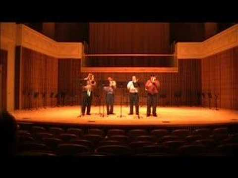 Saska Apon First Trombone Quartet -- Food4Thought, IU Nov 07