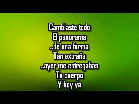 Olvidarte no sera sencillo Banda Carnaval Karaoke