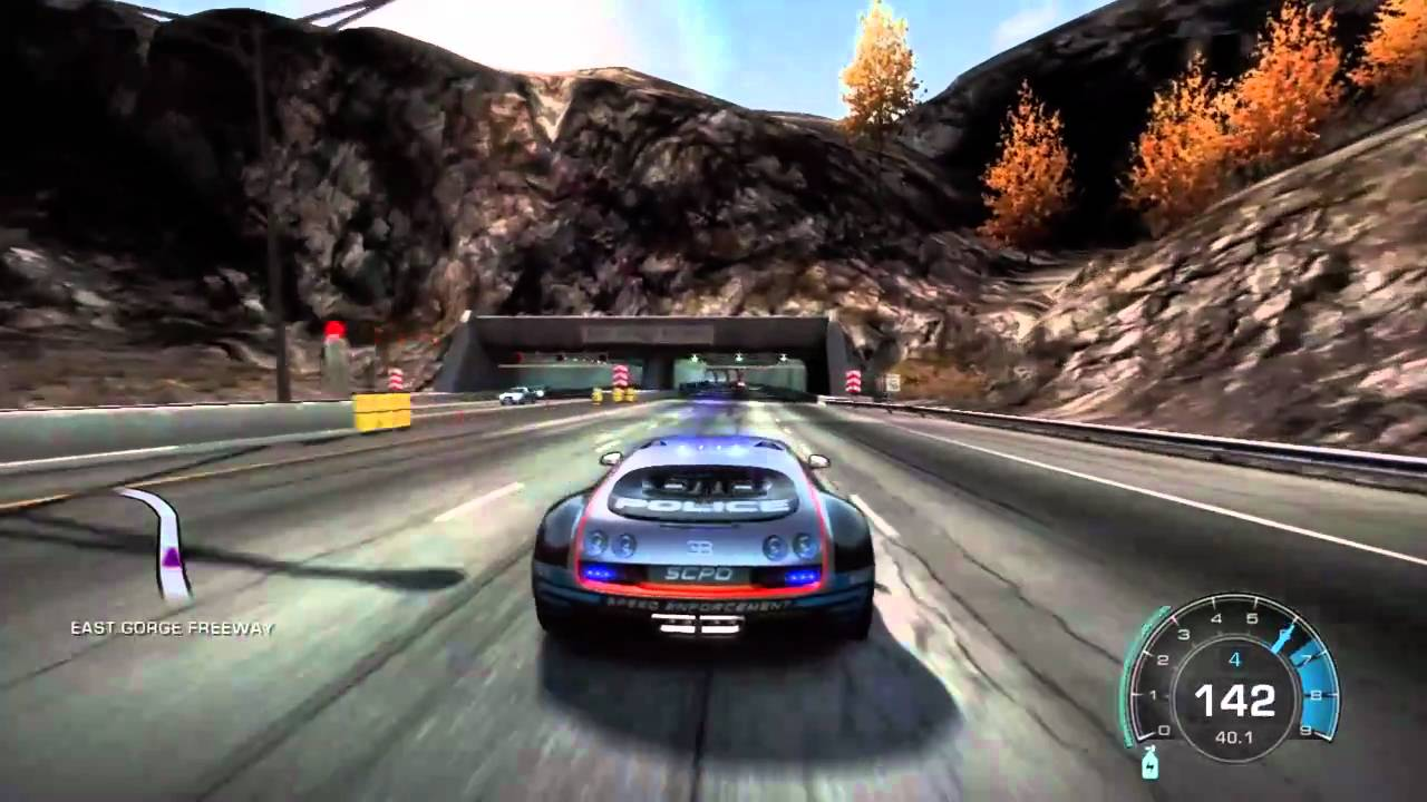 fastest possible top speed on nfs hot pursuit bugatti ss scpd youtube. Black Bedroom Furniture Sets. Home Design Ideas