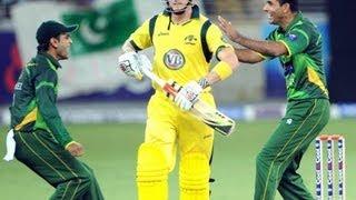 Abdul Razzaq Last Over Pakistan Vs Australia 2nd T20 07 Sep 2012