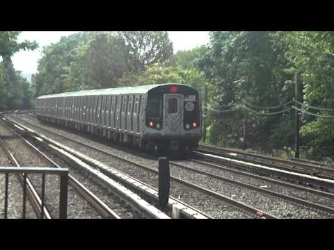 MTA Action at Neck Road!(Q Train)