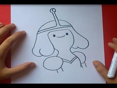 Como dibujar a Dulce princesa paso a paso - Hora de aventuras ...