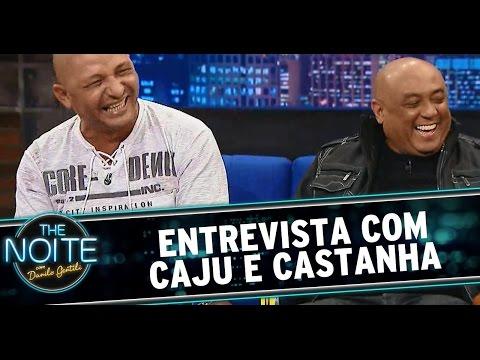 The Noite (08/08/14) - Entrevista com Caju e Castanha