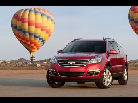 2013 Chevrolet Traverse First Drive & Review: Chevy's not so extreme makeover reviewed