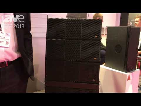 ISE 2018: Adamson Introduces Suite of Line Arrays and Supporting Subwoofers