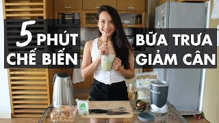 5 MINUTES TO PREPARE A DIET LUNCH | Beauty Story | Hey Giang
