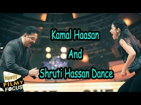 Kamal Hassan & Shruti Hassan Dance At 9th Vijay Awards...!!!