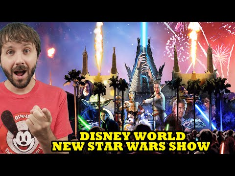 DISNEY WORLD NEW STAR WARS SHOW! Food & Wine News Too! - This Week In Di