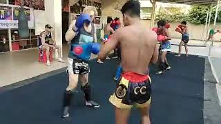 Fight camp in Phnom Penh with MRLY Kun Khmer