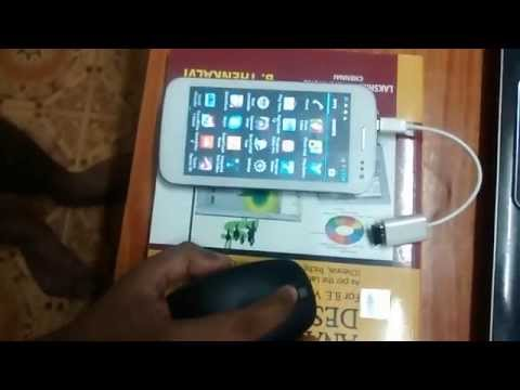 Micromax Canvas 2+ using with OTG Cable