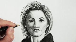 How to Draw a Female Face: Dr Who